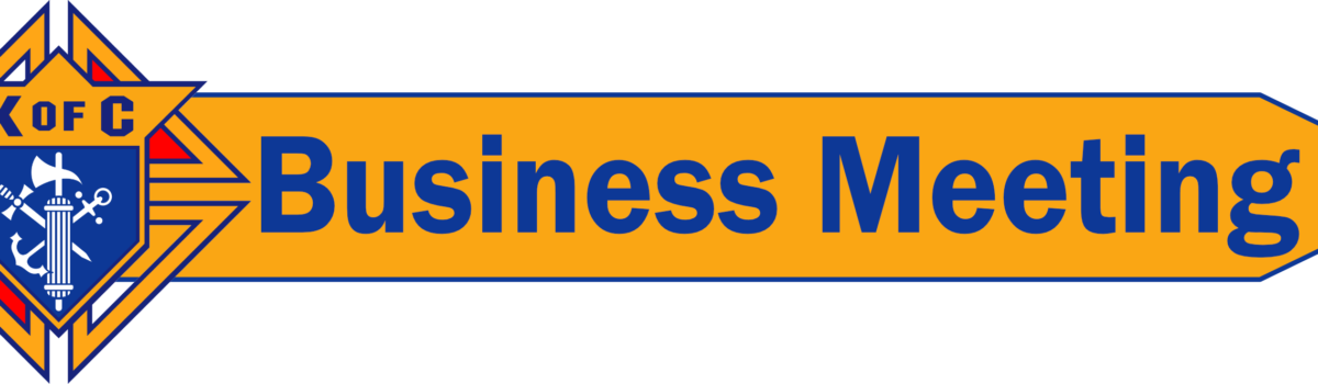 01.20.2020 – Business Meeting