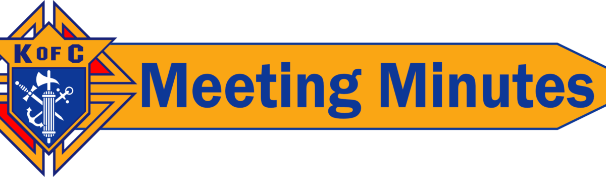 05.19.2020 – Business Meeting
