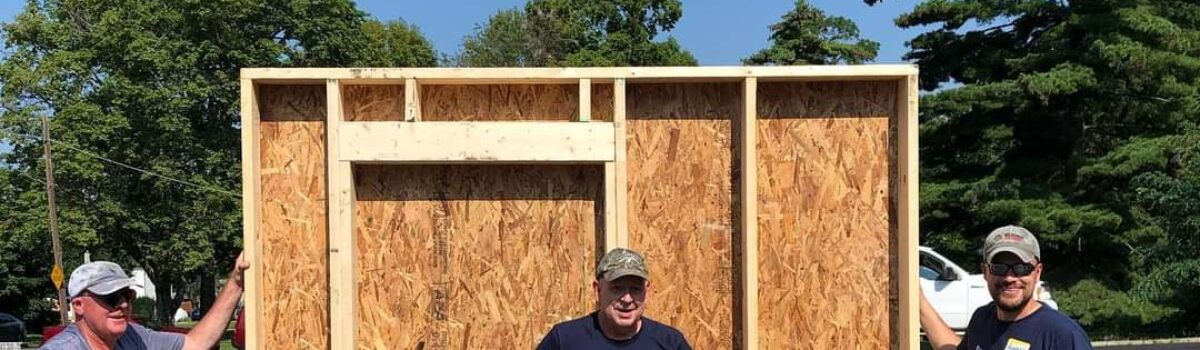 Habitat for Humanity Community Build 2021 – Wall Build Day